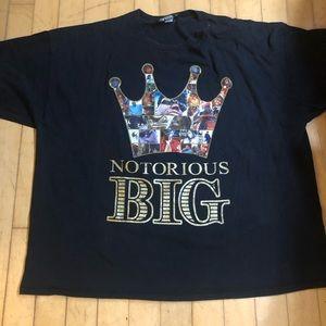 Brooklyn mint biggie smalls 4XL 2005 tee shirt